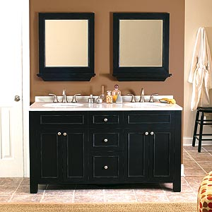 Turn Your Furniture Into A Bathroom Vanity