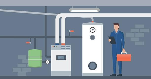 furnace shut down